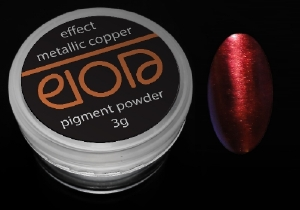 Пигментни пудри:Пудра Elora 3g - Metallic Copper