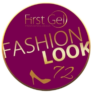 UV/LED гелови бои:First Gel Fashion look 72  -  5g