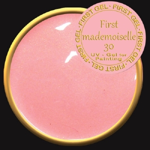 UV/LED гелови бои:First Gel Gelpaste First Mademoiselle 30 -  5g