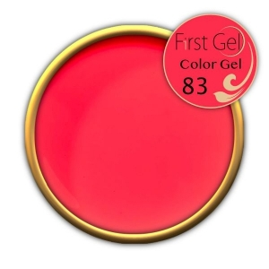 UV/LED гелови бои:First Gel Color gel - 83 4g