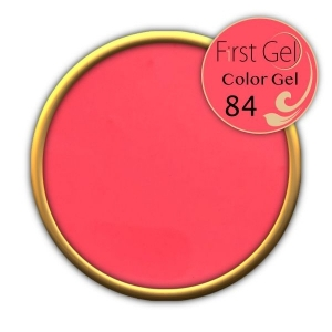 UV/LED гелови бои:First Gel Color gel - 84 4g