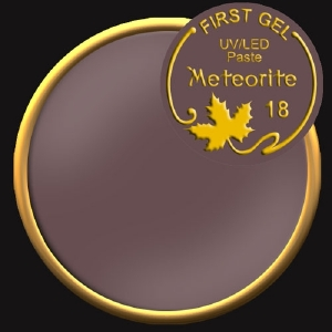 UV/LED гелови бои:First Gel Gelpaste Meteorite 18  -  5g